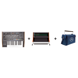 Arturia Minibrute 2, Rackbrute 6U + Travel Bag