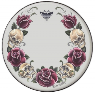 "Remo 14"" Rock&Roses"