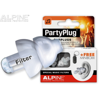 Alpine PartyPlug Transparent