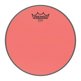 "Remo 10"" Emperor Colortone Red"