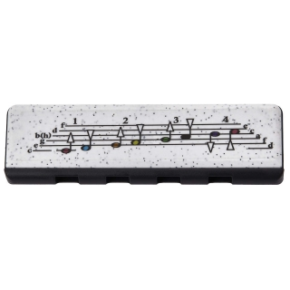 Hohner Speedy black/white