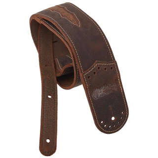 Martin Leather Wing Tip Strap Dark