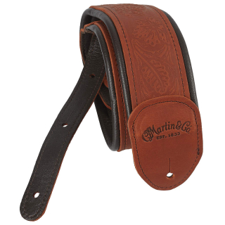 Martin Ball Glove Leather Strap Garment Brown