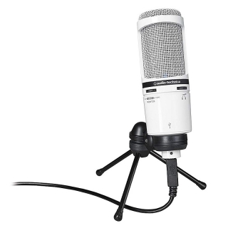 Audio-Technica AT2020USB+ WH