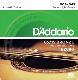 D'Addario EZ890 Super Light