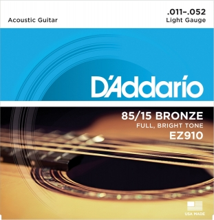 D'Addario EZ910 Great American Bronze Wound