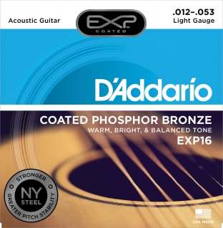 D'Addario EXP16 Phosphor Bronze Light