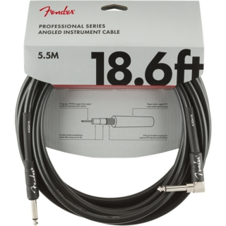 Fender Professional Series Instrument Cable S/A 5,5 m Black